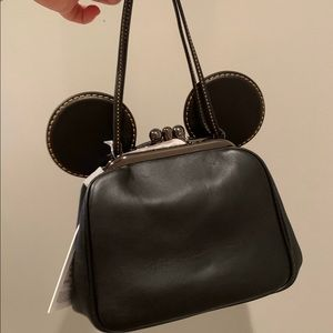 Coach x Disney mouse limited edition tote- black